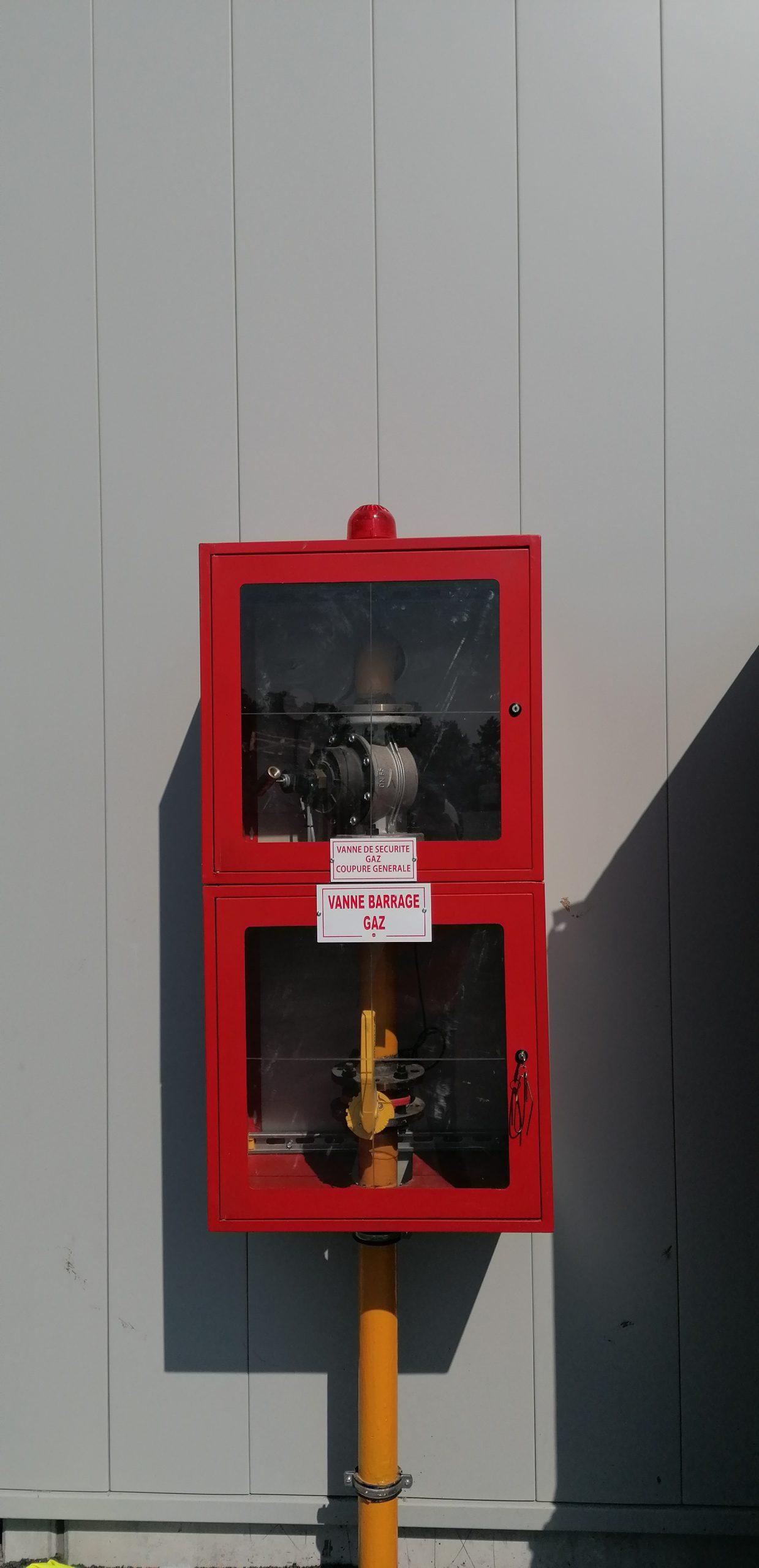Chaufferie gaz Parc des Expositions de Reims