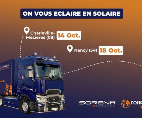 Comprendre l'éclairage solaire avec le Fonroche Lighting Tour 2021